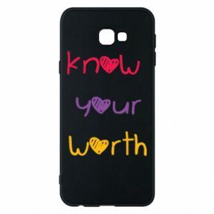 Etui na Samsung J4 Plus 2018 Know your worth