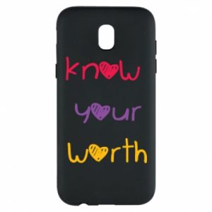 Etui na Samsung J5 2017 Know your worth