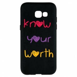 Etui na Samsung A5 2017 Know your worth