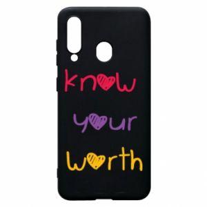 Etui na Samsung A60 Know your worth