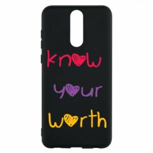 Etui na Huawei Mate 10 Lite Know your worth