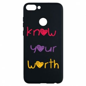 Etui na Huawei P Smart Know your worth