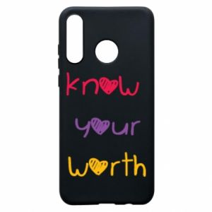 Etui na Huawei P30 Lite Know your worth