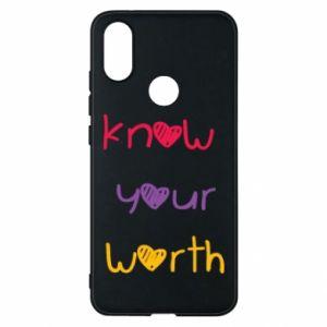 Etui na Xiaomi Mi A2 Know your worth