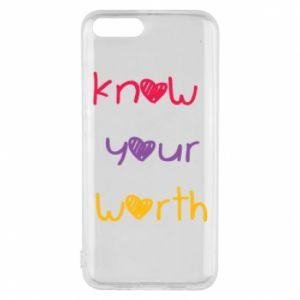 Etui na Xiaomi Mi6 Know your worth