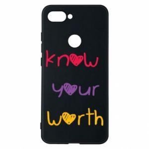Etui na Xiaomi Mi8 Lite Know your worth