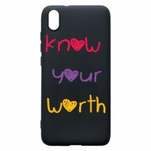 Etui na Xiaomi Redmi 7A Know your worth