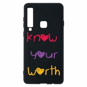 Etui na Samsung A9 2018 Know your worth