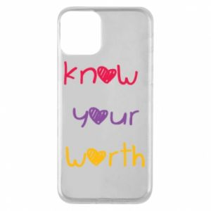 Etui na iPhone 11 Know your worth