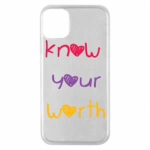 Etui na iPhone 11 Pro Know your worth
