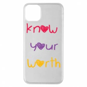 Etui na iPhone 11 Pro Max Know your worth