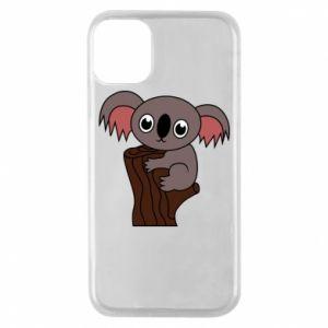 Etui na iPhone 11 Pro Koala on a tree with big eyes