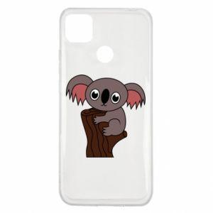 Etui na Xiaomi Redmi 9c Koala on a tree with big eyes