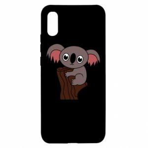 Etui na Xiaomi Redmi 9a Koala on a tree with big eyes