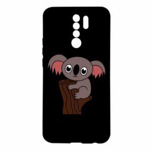 Etui na Xiaomi Redmi 9 Koala on a tree with big eyes
