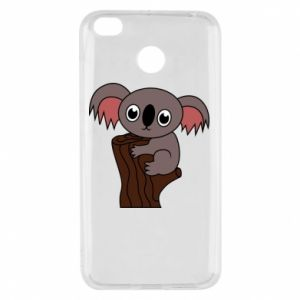 Etui na Xiaomi Redmi 4X Koala on a tree with big eyes