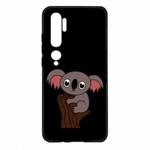 Etui na Xiaomi Mi Note 10 Koala on a tree with big eyes