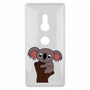 Etui na Sony Xperia XZ2 Koala on a tree with big eyes