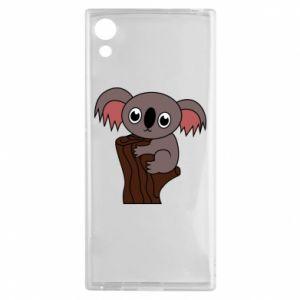 Etui na Sony Xperia XA1 Koala on a tree with big eyes