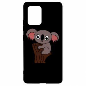 Etui na Samsung S10 Lite Koala on a tree with big eyes
