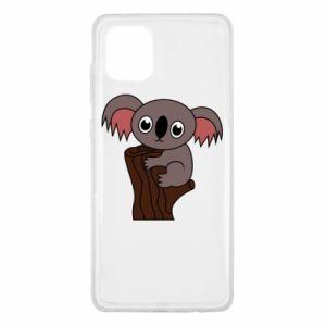 Etui na Samsung Note 10 Lite Koala on a tree with big eyes