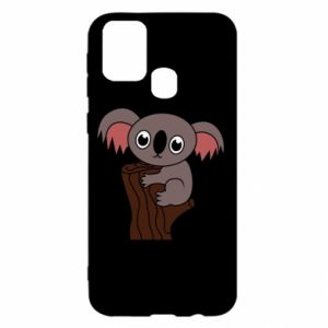 Etui na Samsung M31 Koala on a tree with big eyes