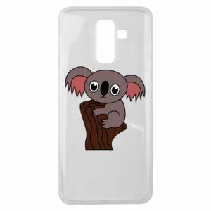 Etui na Samsung J8 2018 Koala on a tree with big eyes