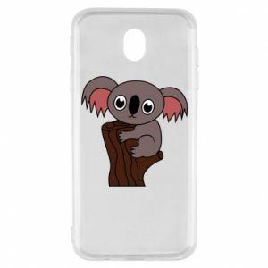 Etui na Samsung J7 2017 Koala on a tree with big eyes