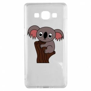 Etui na Samsung A5 2015 Koala on a tree with big eyes