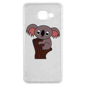Etui na Samsung A3 2016 Koala on a tree with big eyes