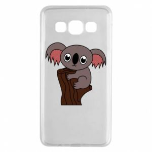 Etui na Samsung A3 2015 Koala on a tree with big eyes
