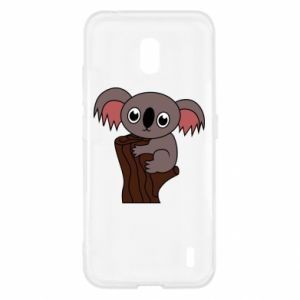 Etui na Nokia 2.2 Koala on a tree with big eyes