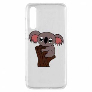 Etui na Huawei P20 Pro Koala on a tree with big eyes