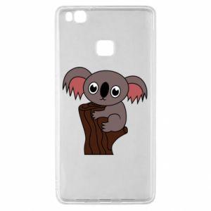 Etui na Huawei P9 Lite Koala on a tree with big eyes