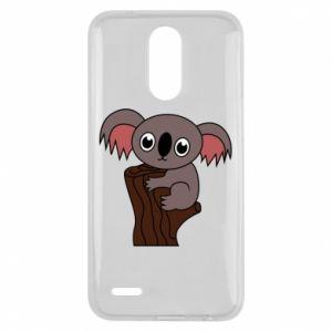 Etui na Lg K10 2017 Koala on a tree with big eyes