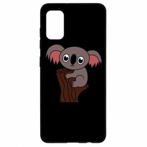 Etui na Samsung A41 Koala on a tree with big eyes