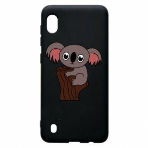 Etui na Samsung A10 Koala on a tree with big eyes
