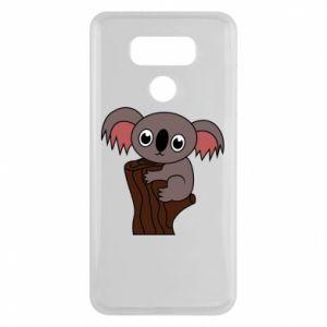 Etui na LG G6 Koala on a tree with big eyes