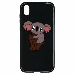 Etui na Huawei Y5 2019 Koala on a tree with big eyes
