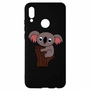 Etui na Huawei P Smart 2019 Koala on a tree with big eyes