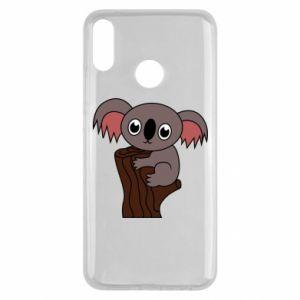 Etui na Huawei Y9 2019 Koala on a tree with big eyes