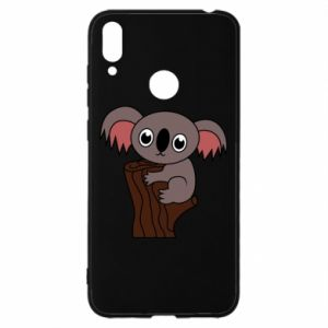 Etui na Huawei Y7 2019 Koala on a tree with big eyes