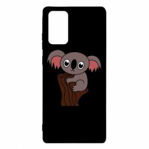 Etui na Samsung Note 20 Koala on a tree with big eyes