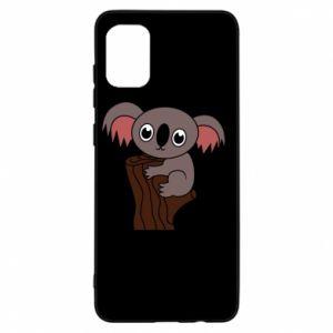Etui na Samsung A31 Koala on a tree with big eyes