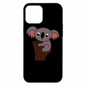 Etui na iPhone 12 Pro Max Koala on a tree with big eyes