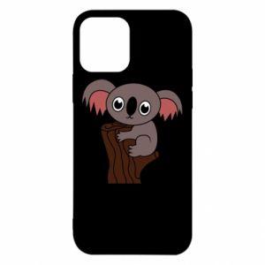 Etui na iPhone 12/12 Pro Koala on a tree with big eyes