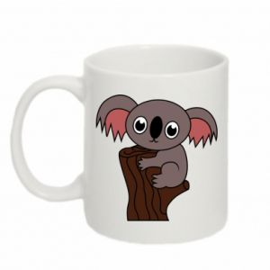 Kubek 330ml Koala on a tree with big eyes