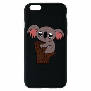 Etui na iPhone 6/6S Koala on a tree with big eyes