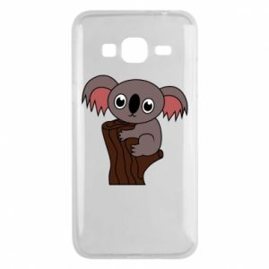 Etui na Samsung J3 2016 Koala on a tree with big eyes
