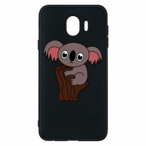 Etui na Samsung J4 Koala on a tree with big eyes